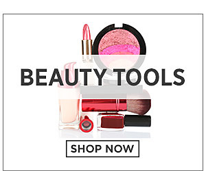 Beauty Tools. Shop Now.