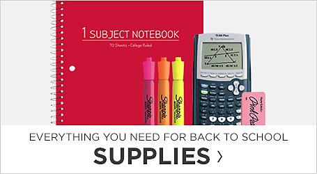 Supplies. Shop Now.