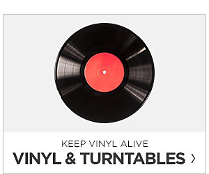 Vinyl and Turntables. Shop Now.