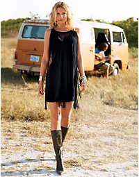 Fringe benefits dress. > Boston Proper > bostonproper.com from bostonproper.com