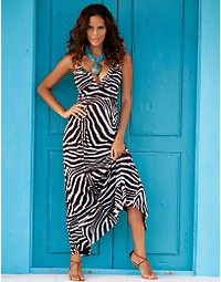 Exotic mesh maxi dress. > Boston Proper > bostonproper.com :  boston porper dresses womens apparel fashion trend