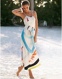 Art deco maxi dress. > Boston Proper > bostonproper.com