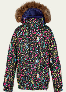 Disney Frozen Girl's Twist Bomber Jacket