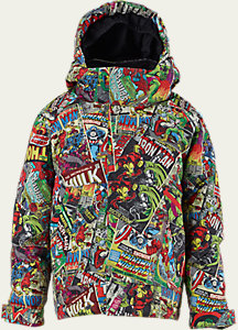 Marvel® x Burton Boys' Minishred Amped Jacket