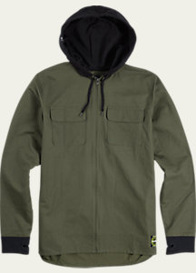 Men's Analog Integrate Full-Zip Hoodie