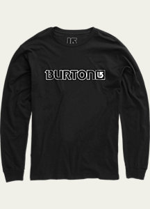Burton Logo Horizontal Long Sleeve T Shirt