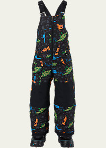 Burton Boys' Minishred Maven Bib Pant