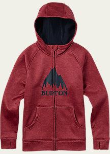 Burton Boys' Bonded Full-Zip Hoodie