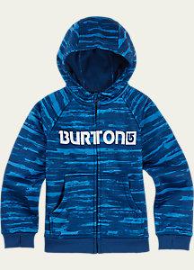 Burton Boys' Mini Bonded Full-Zip Hoodie