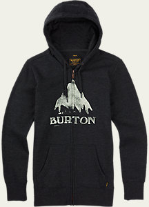 Burton Stamped Mountain Full-Zip Hoodie