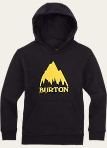 Burton Boys' Classic Mountain Pullover Hoodie