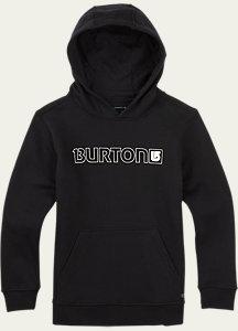 Burton Boys' Logo Horizontal Pullover Hoodie