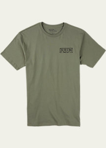 Burton Vista Slim Fit Short Sleeve T Shirt