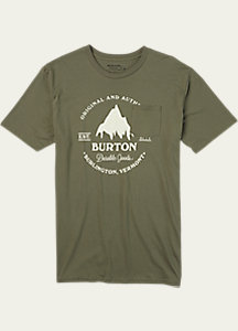 Burton Gristmill Short Sleeve Pocket T Shirt