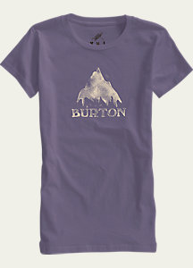 Burton Stamped Mountain Short Sleeve T Shirt