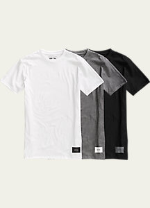 Burton 3 Pack Slim Fit T Shirts