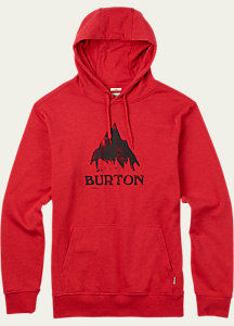 Classic Mountain Recycled Pullover Hoodie