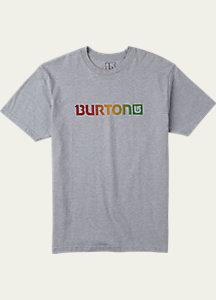 Burton Logo Horizontal Short Sleeve T Shirt
