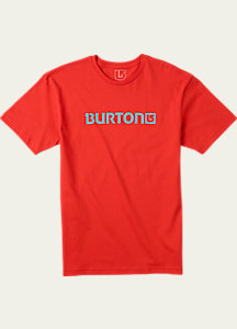 Burton Logo Horizontal Short Sleeve T Shirt