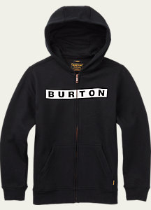 Burton Boys' Vault Full-Zip Hoodie
