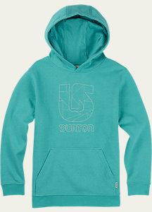 Boys' Logo Vertical Pullover Hoodie