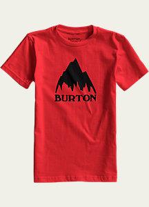 Burton Boys' Classic Mountain Short Sleeve T Shirt
