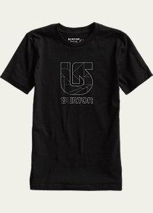 Burton Boys' Logo Vertical Short Sleeve T Shirt