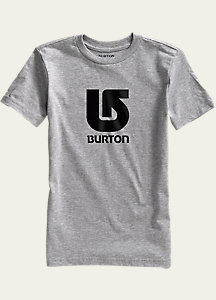 Burton Boys' Logo Vertical Short Sleeve T Shirt