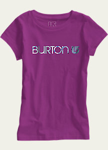 Burton Girls' Her Logo Short Sleeve T Shirt