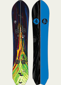 Burton Family Tree Fish Split Snowboard