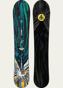 Burton Family Tree Modified Fish Snowboard