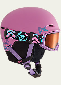 anon. Girls' Define Snowboard Helmet
