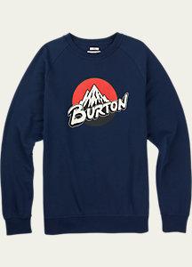 Burton Retro Lockup Crew Pullover