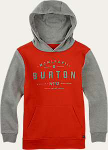 Burton Boys' Numeral Pullover Hoodie