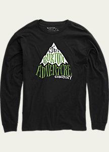 Burton Boys' Adventure Co Long Sleeve T Shirt