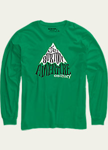 Burton Boys' Adventure Co Long Sleeve T Shirt