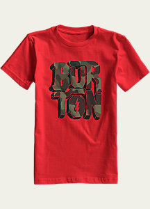 Burton Boys' Rock and Roll Short Sleeve T Shirt