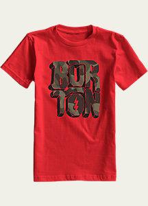 Burton Boys' Rock and Roll Short Sleeve T Shirt