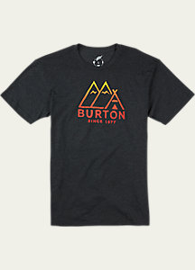 Burton Foothills Slim Fit Short Sleeve T Shirt