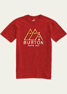 Burton Foothills Slim Fit Short Sleeve T Shirt