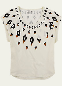 Burton Fairisle Short Sleeve T Shirt