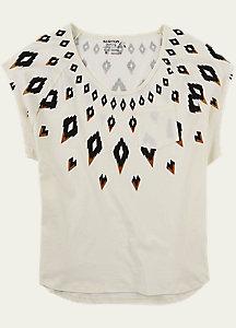 Burton Fairisle Short Sleeve T Shirt
