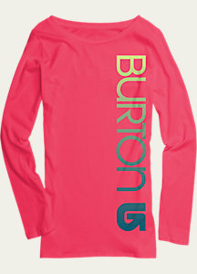 Burton Girls' Antidote Long Sleeve T Shirt