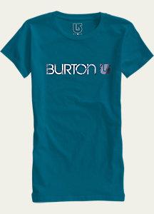 Burton Her Logo Short Sleeve T Shirt