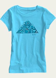 Burton Girls' Peak Short Sleeve T Shirt