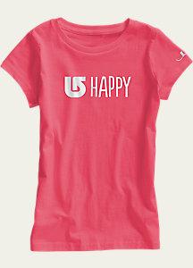 Burton Girls' Happy Short Sleeve T Shirt