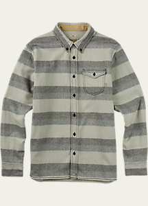 Burton Farrel Wool Long Sleeve Woven