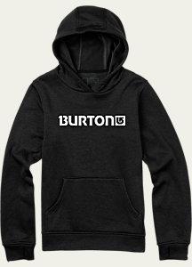 Burton Boys' Oak Bonded Pullover Hoodie