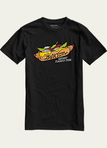 Burton Chicago Hot Dog Short Sleeve Slim Fit T Shirt