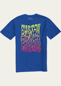 Burton San Francisco Poster Short Sleeve Slim Fit T Shirt